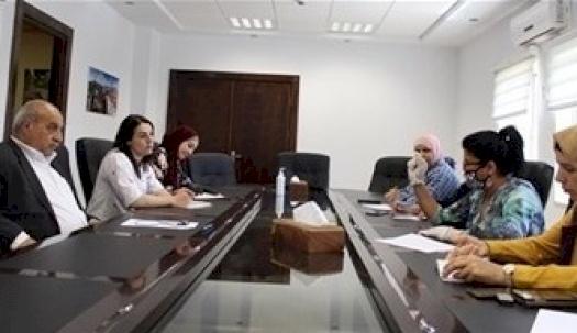 غرفة تجارة وصناعة محافظة بيت لحم تلتقي الاتحاد العام للمرأة الفلسطينية/ محافظة بيت لحم